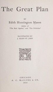 Cover of: The great plan | Edith Huntington Mason
