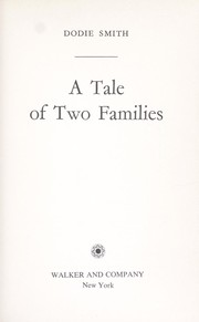 Cover of: A tale of two families
