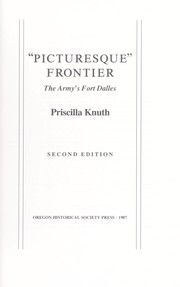 Cover of: Picturesque frontier | Priscilla Knuth