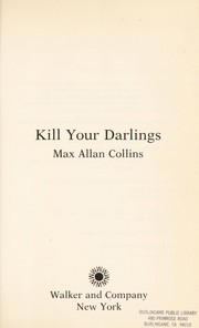 Cover of: Kill your darlings