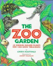 Cover of: The zoo garden | Chris Hastings