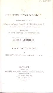 Cover of: Treatise on heat