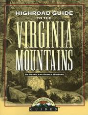 Cover of: Highroad guide to the Virginia mountains