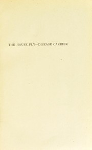 Cover of: The house fly