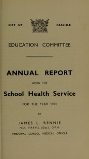 Cover of: [Report 1954]