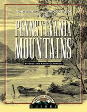 Cover of: Longstreet highroad guide to the Pennsylvania mountains | Greg Czarnecki