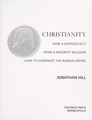 Cover of: Christianity | Hill, Jonathan