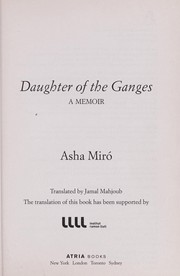 Cover of: Daughter of the Ganges | Asha Miró
