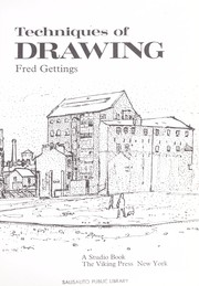 Cover of: Techniques of drawing. | Fred Gettings