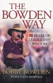 Cover of: The Bowden Way | Bobby Bowden