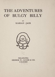 Cover of: The adventures of Bulgy Billy