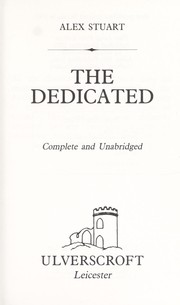 Cover of: The Dedicated | Vivian Stuart