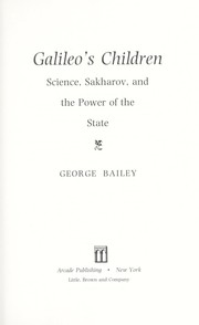 Cover of: Galileo