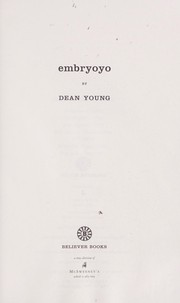 Cover of: Embryoyo