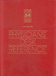Physiciansu0027 Desk Reference 2000 (Physiciansu0027 Desk Reference (Pdr))