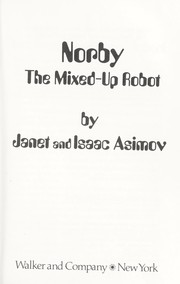 Cover of: Norby, the mixed-up robot