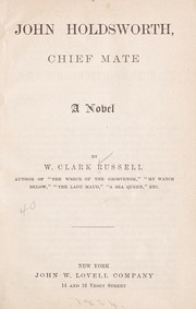 Cover of: John Holdsworth, chief mate