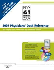 Cover of: 2007 Physicians