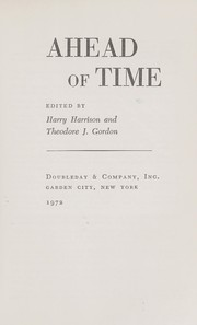 Cover of: Ahead of time