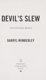 Cover of: Devil's slew | Darryl Wimberley
