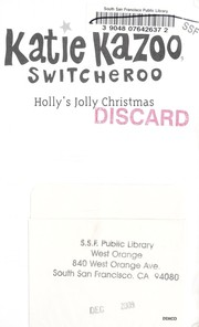 Cover of: Holly's jolly Christmas