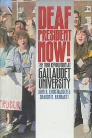Cover of: Deaf president now!