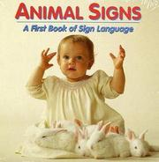 Cover of: Animal signs | Debby Slier