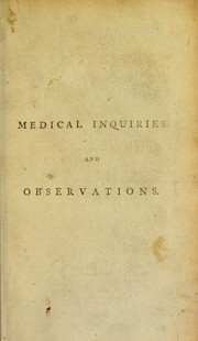 Cover of: Medical inquiries & observations
