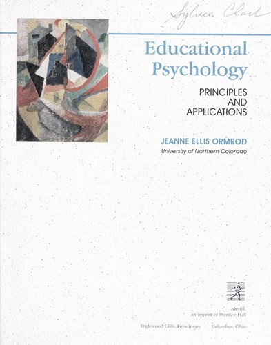 Educational psychology by Jeanne Ellis Ormrod