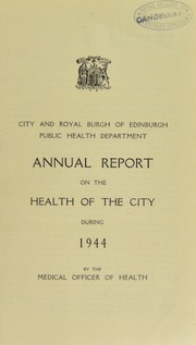 Cover of: [Report 1944]