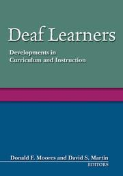 Cover of: Deaf learners