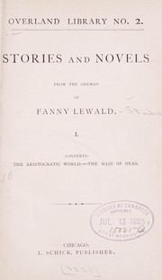 Cover of: Stories and novels