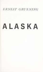 Cover of: The State of Alaska