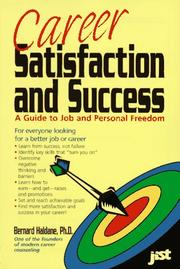 Cover of: Career satisfaction and success