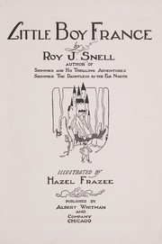 Cover of: Little boy France