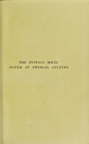 Cover of: The Eustace Miles system of physical culture