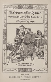 Cover of: The history of Don Quixote