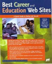 Cover of: Best career and education Web sites |