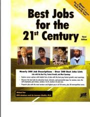 Cover of: Best Jobs for the 21st Century | J. Michael Farr