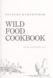 Cover of: Wild food cookbook | Frances Hamerstrom