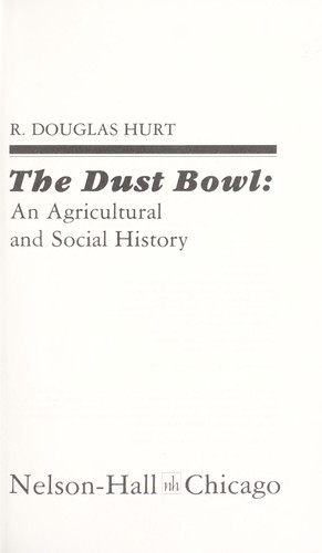 The Dust Bowl : an agricultural and social history by