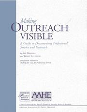 Cover of: Making outreach visible