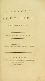 Cover of: Medical sketches, in two parts