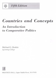 Cover of: Countries and concepts | Michael Roskin