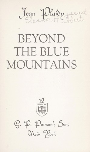 Beyond the Blue Mountains by Victoria Holt
