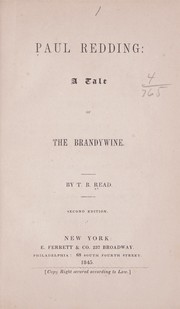 Cover of: Paul Redding: a tale of the Brandywine