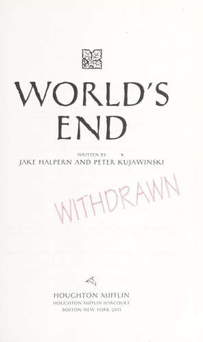 World's End by Jake Halpern