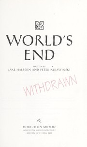 Cover of: World's End | Jake Halpern