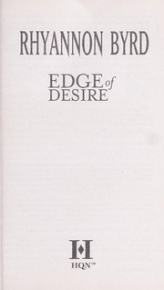 Cover of: Edge of desire