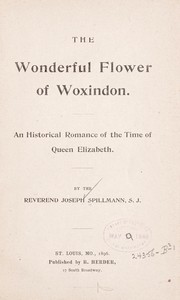 Cover of: The wonderful flower of Woxindon